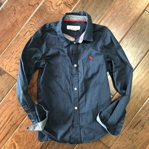 H&M Navy Blue Shirt (Kids)